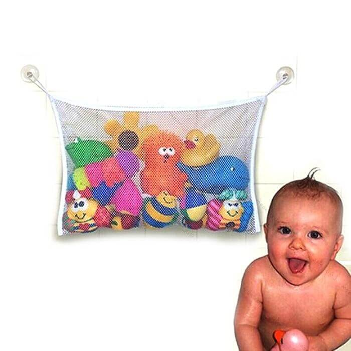 Baby Kids Toy Storage Net Suction Cup - Shop For Gamers