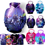 Fortnite Game 3D Hoodie - Shop For Gamers