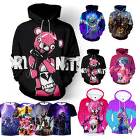 Fortnite Battle Royale 3D Hoodies - Shop For Gamers