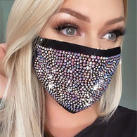 Crystal Masquerade Face Mask - Shop For Gamers