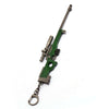 PUBG Metal Green 17CM AKM Gun Keychain - Shop For Gamers