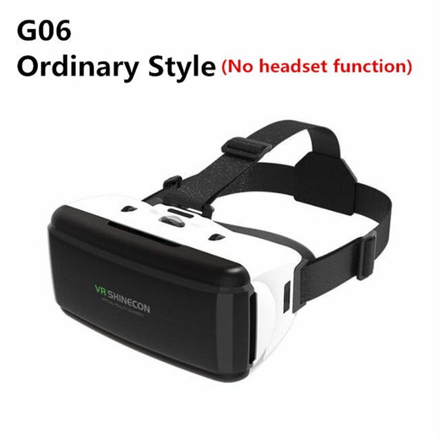 VR 3D Glasses Box Stereo Headset - Shop For Gamers