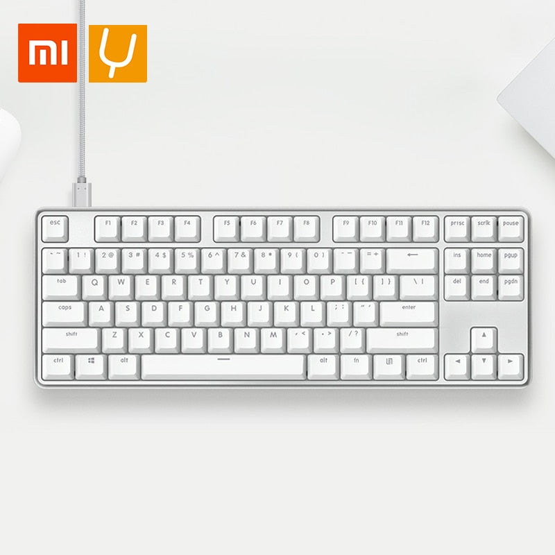 XiaoMi Yuemi Pro MK02 87 Keys Mechanical Keyboard - Shop For Gamers