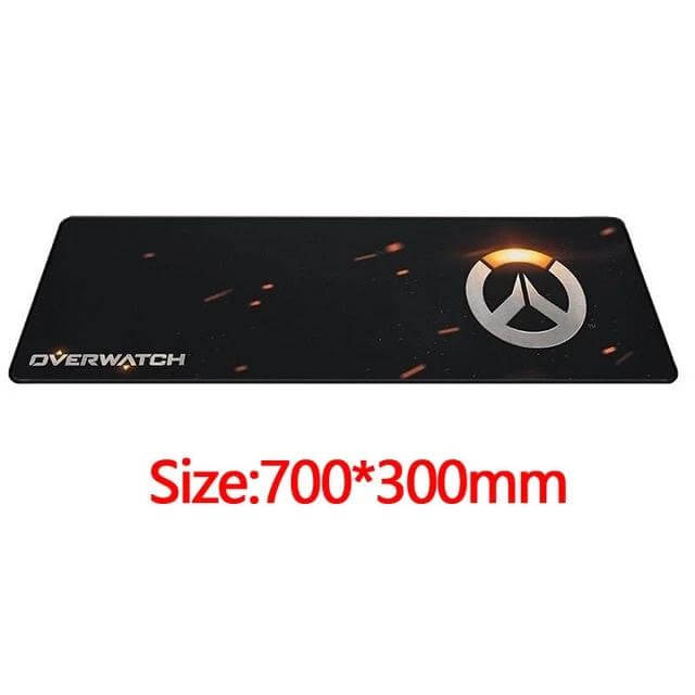 Overwatch Anti-Slip Gaming Mouse Pad - Shop For Gamers
