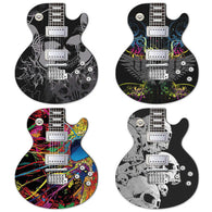 Guitar Pattern PC Mouse Pad - Shop For Gamers