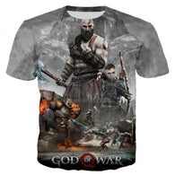 2019 God of War Print Men/Women T-Shirt