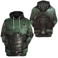 Doom Slayer Doom Guy Hoodie - Shop For Gamers