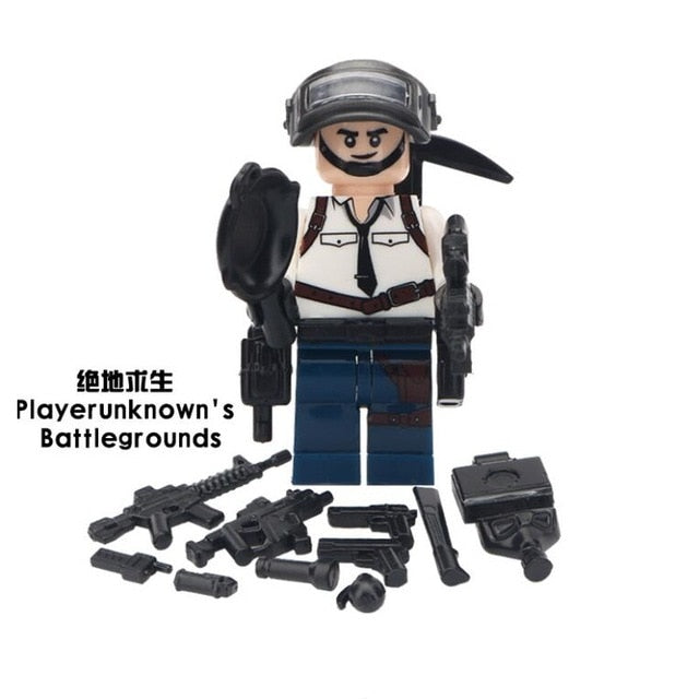 PUBG Game Action Figure Military Soldier - Shop For Gamers