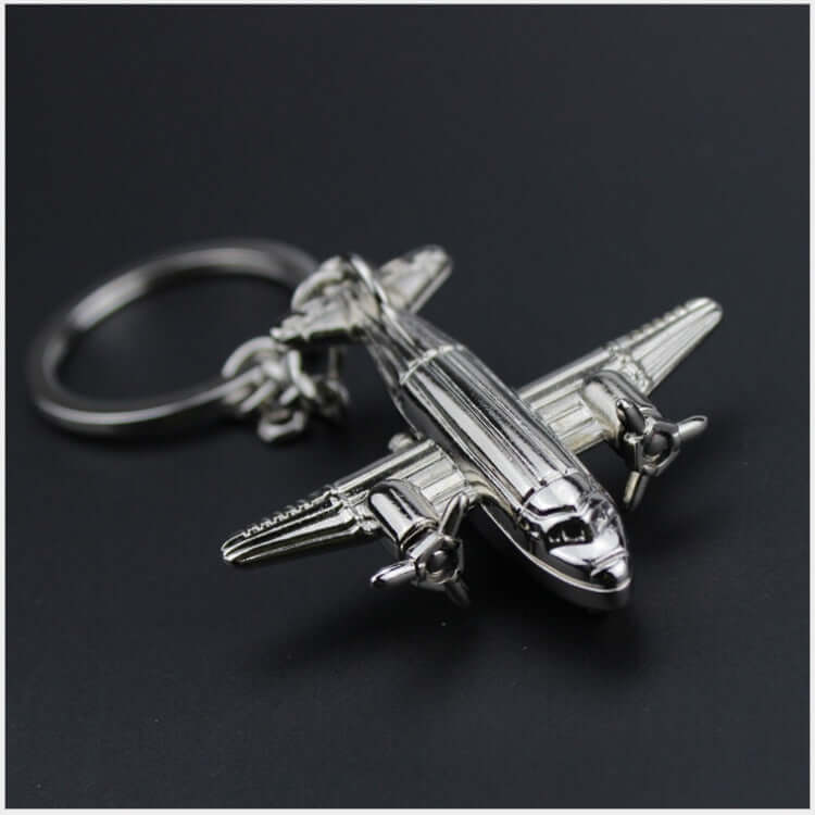 PUBG Transporter Plane 98K Alloy Key Chain - Shop For Gamers