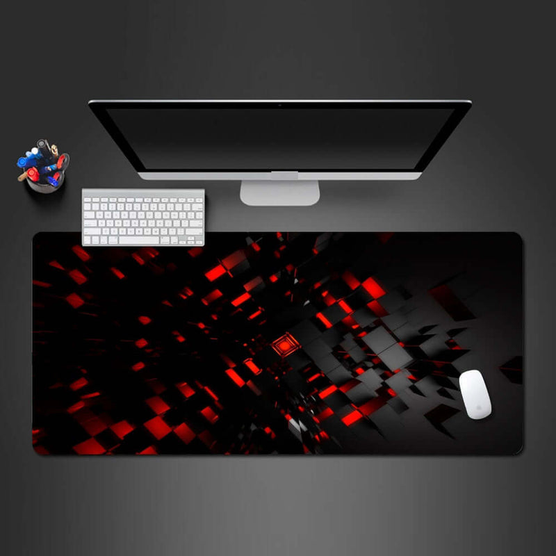 Personality Red 3D Pattern Mouse Pad - Shop For Gamers