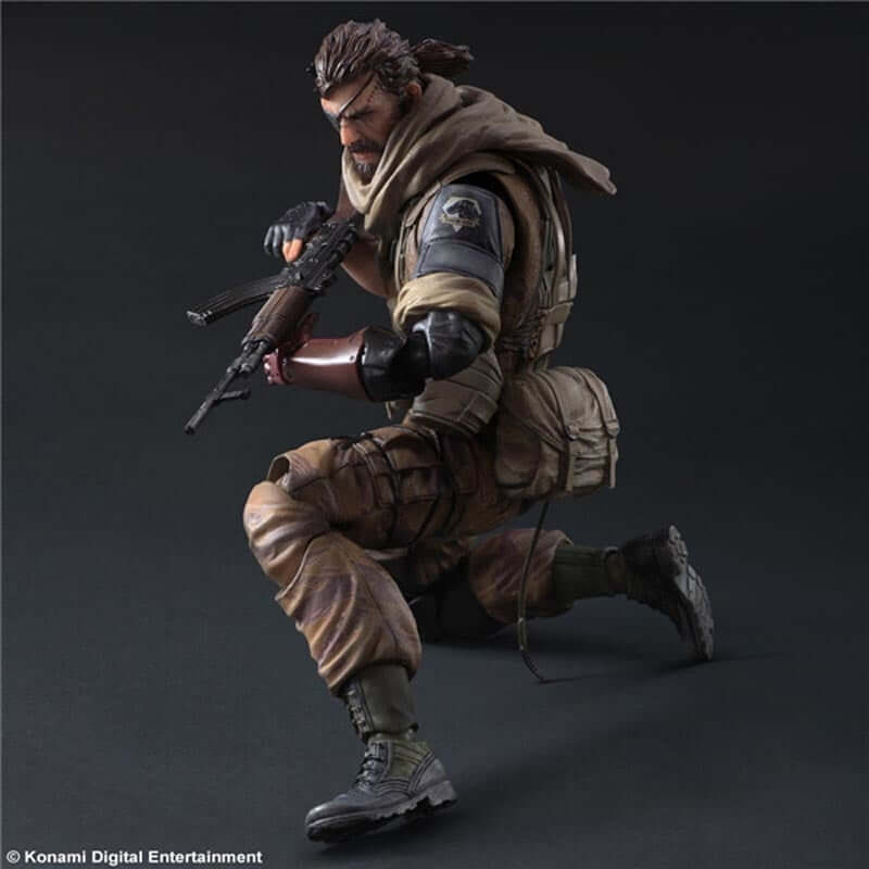 Metal Gear Solid Snake PVC Action Figure - Shop For Gamers