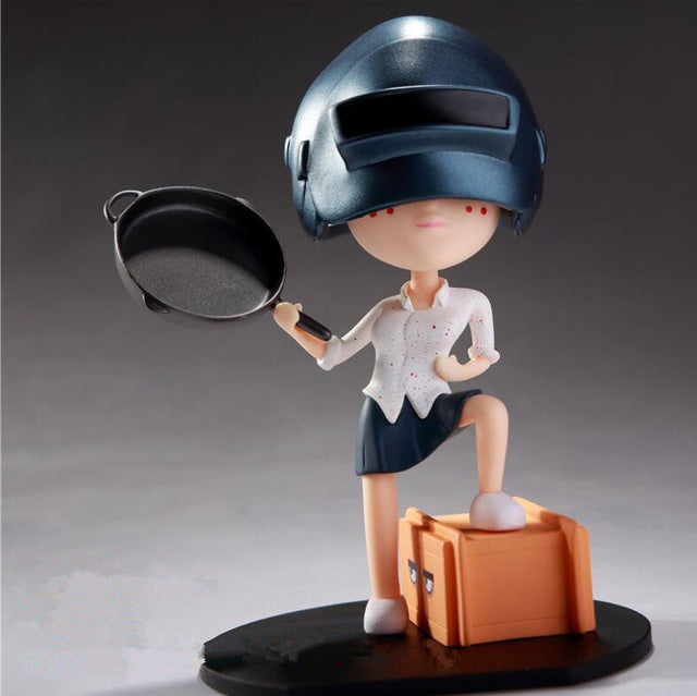 PUBG Model Doll PVC 12 CM Action Figure - Shop For Gamers