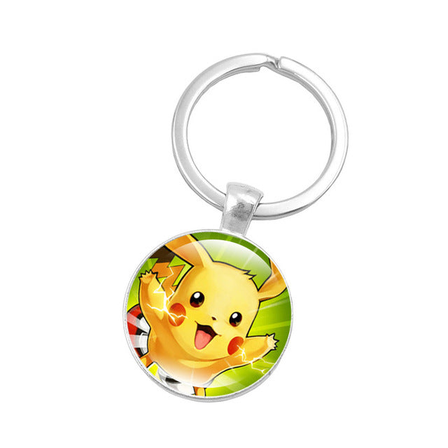 Pokemon Pikachu Silver Color Key Chain - Shop For Gamers
