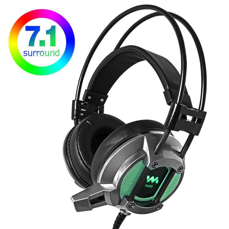 Chonchow 9600 Colorful LED Gaming Headset - Shop For Gamers