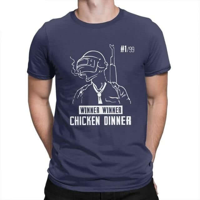 PUBG Teenage Short Sleeve Crew Neck T-Shirt - Shop For Gamers