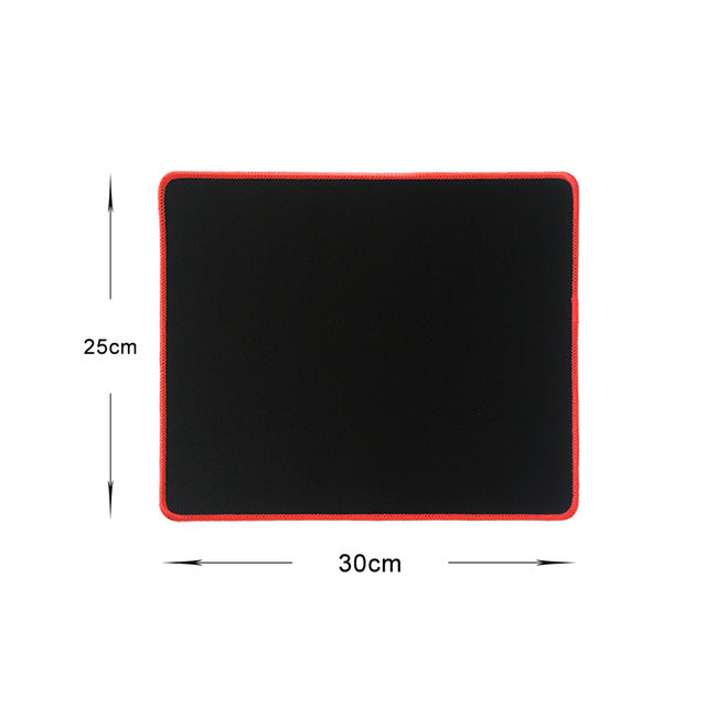 Pure Black Large Gaming Mouse Pad - Shop For Gamers