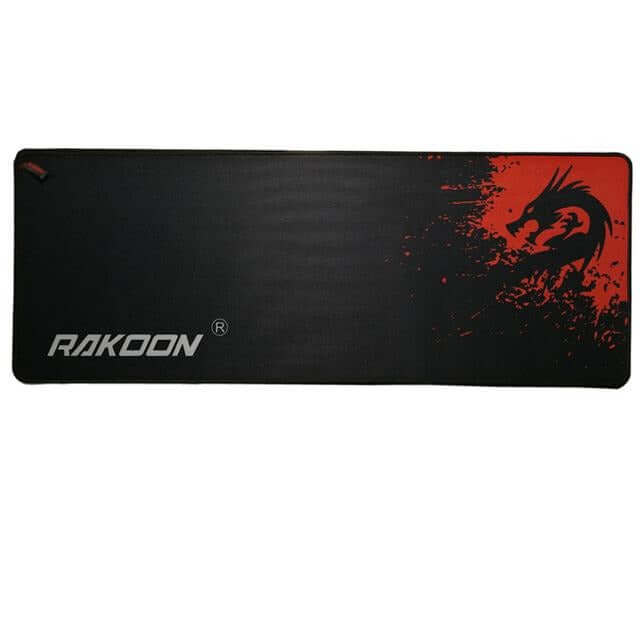 Rakoon Professional Gaming Mouse Pad Blue/Red Dragon - Shop For Gamers