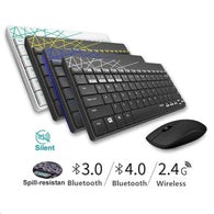 Rapoo 8000M Wireless Keyboard Mouse Combo - Shop For Gamers