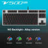 Rapoo V500 RGB LED Backlit Gaming Keyboard - Shop For Gamers