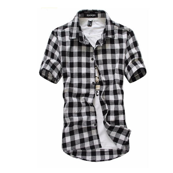 Red And Black Plaid Men Shirt - Shop For Gamers