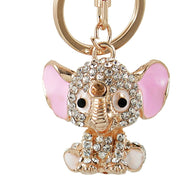 Crystal Elephant Keychain - Shop For Gamers