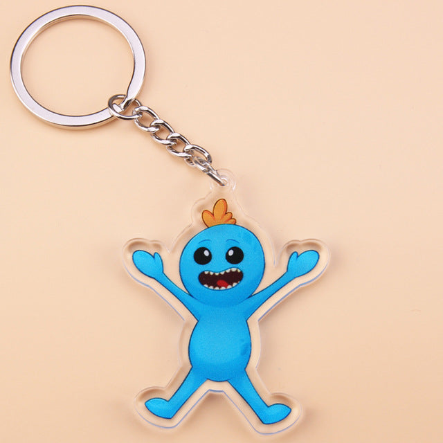 Rick And Morty Characters Keychains - Shop For Gamers