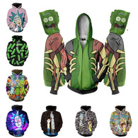 Rick Morty Characters Hoodies - Shop For Gamers