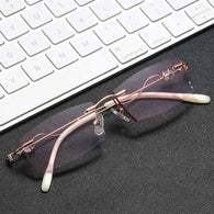 Rimless Computer Reading Glasses - Shop For Gamers