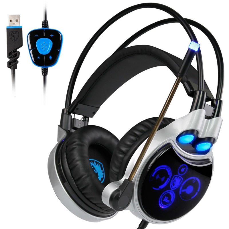 SADES R8 Gaming Headset - Shop For Gamers