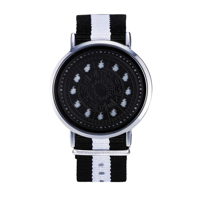 12 Zodiac Signs Theme LED Watch - Shop For Gamers