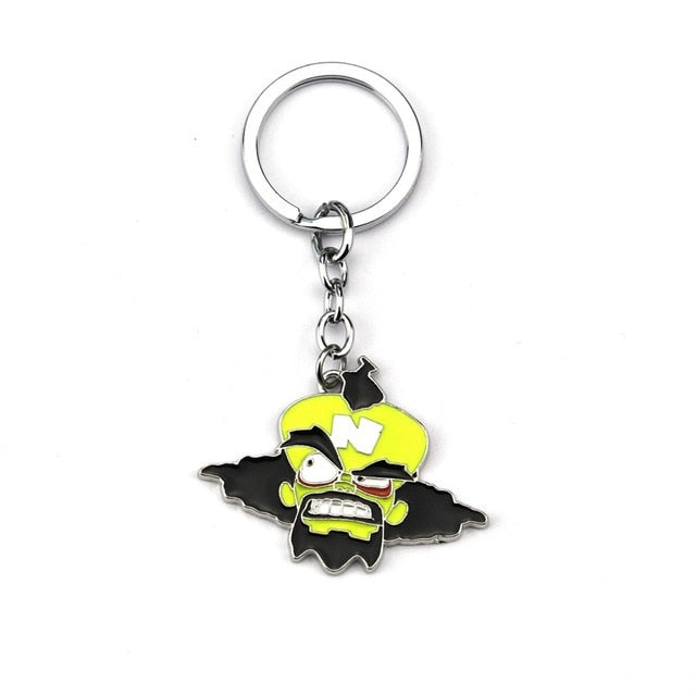 Crash Bandicoot Game Key Chain - Shop For Gamers