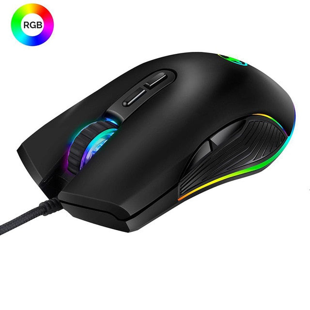 SeenDa Professional USB Wired Gaming Mouse - Shop For Gamers