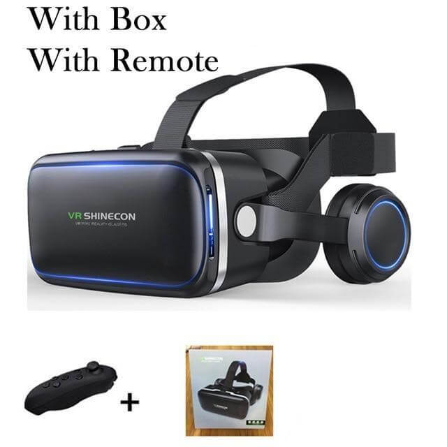 Shinecon 6.0 Casque VR Virtual Reality Glasses - Shop For Gamers