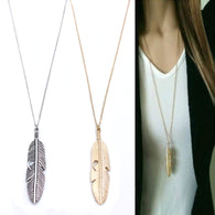 Feather Necklace For Womens - Shop For Gamers