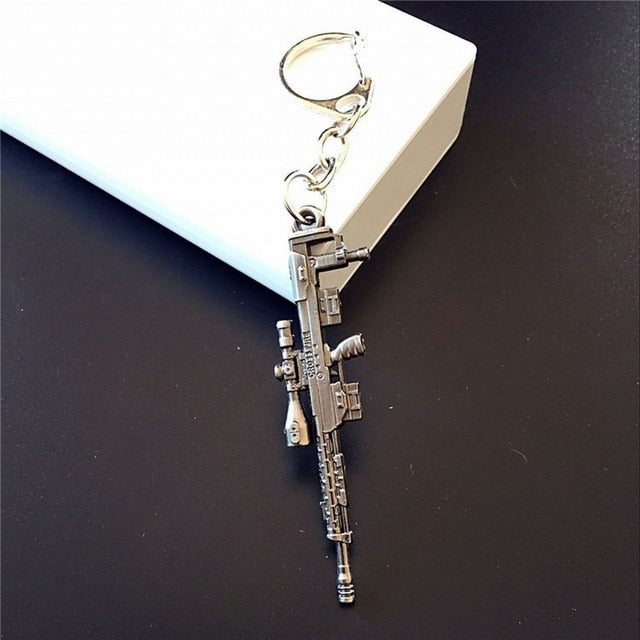 PUBG Gun Weapons Keychain - Shop For Gamers