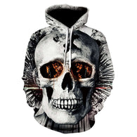 New 2019 Skull Head Men Hoodies - Shop For Gamers