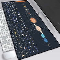 Solar System Large Gaming Mouse Pad - Shop For Gamers