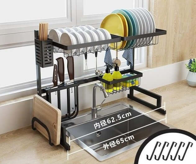 Stainless Steel Drain Rack - Shop For Gamers