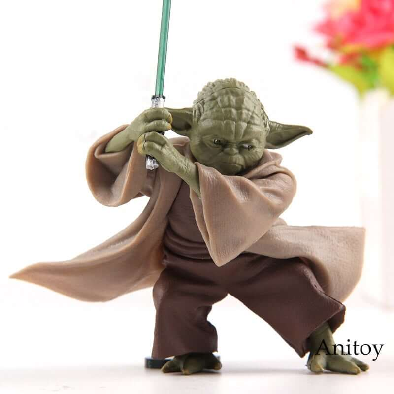 Star Wars Jedi Knight Master Yoda PVC Actions Figure - Shop For Gamers