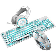 Steam Machinery Keyboard and Mouse Combo - Shop For Gamers