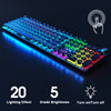 Steampunk F2068 Mechanical Gaming Keyboard - Shop For Gamers