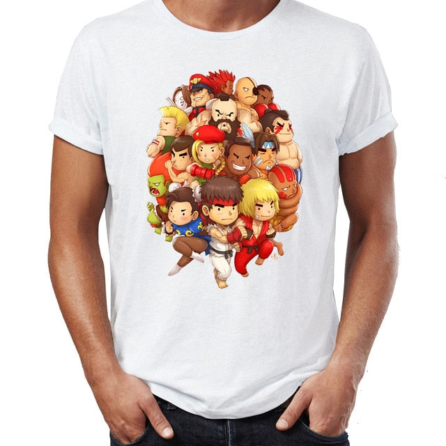 Street Fighter Retro T-Shirt - Shop For Gamers