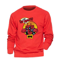 Deadpool Hoodie Men I Am The Night Sweatshirt - Shop For Gamers