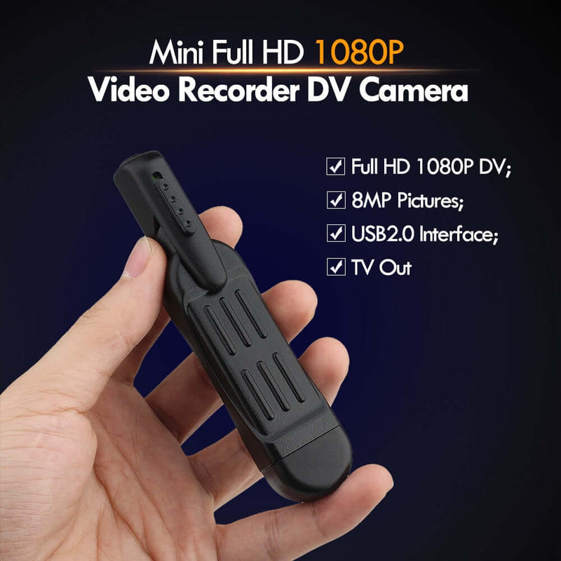 Mini Full HD T189 Camera and Voice Recorder - Shop For Gamers