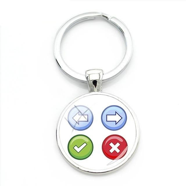 Game Controller Keychain - Shop For Gamers
