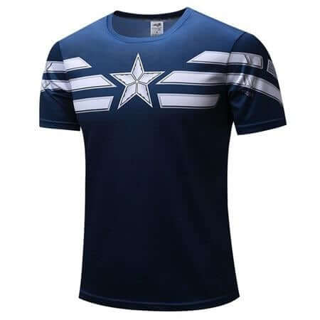 Captain America T-Shirt - Shop For Gamers