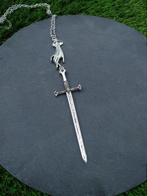 Tarot Sword necklace - Shop For Gamers