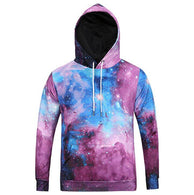 Colorful Galaxy Pattern Hoodie - Shop For Gamers