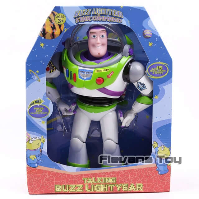 Toy Story 3 Talking Buzz Lightyear Action Figure - Shop For Gamers
