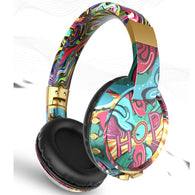 Cool Doodle Wireless Bluetooth Headphone - Shop For Gamers
